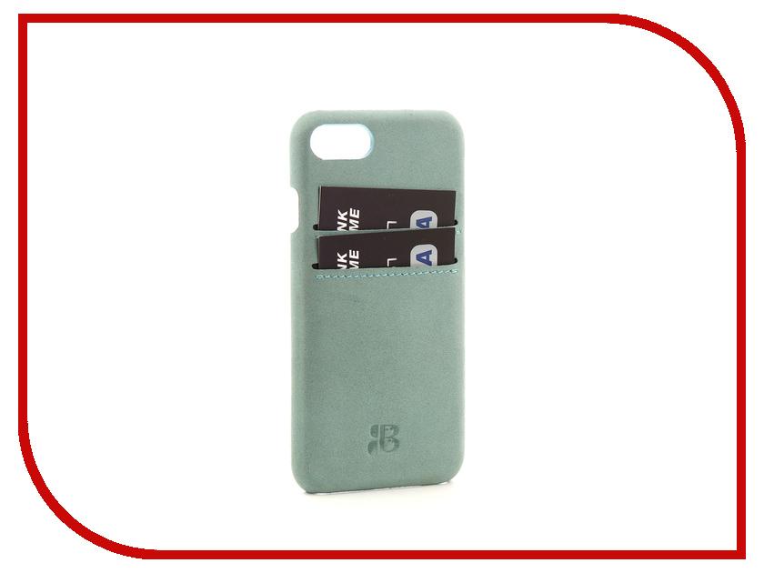 Аксессуар Чехол-бампер Burkley Snap-On для APPLE iPhone 7 Light Blue BMCUJBG14I7 аксессуар чехол бампер burkley snap on для apple iphone 7 plus black bmcujblrst1i7p