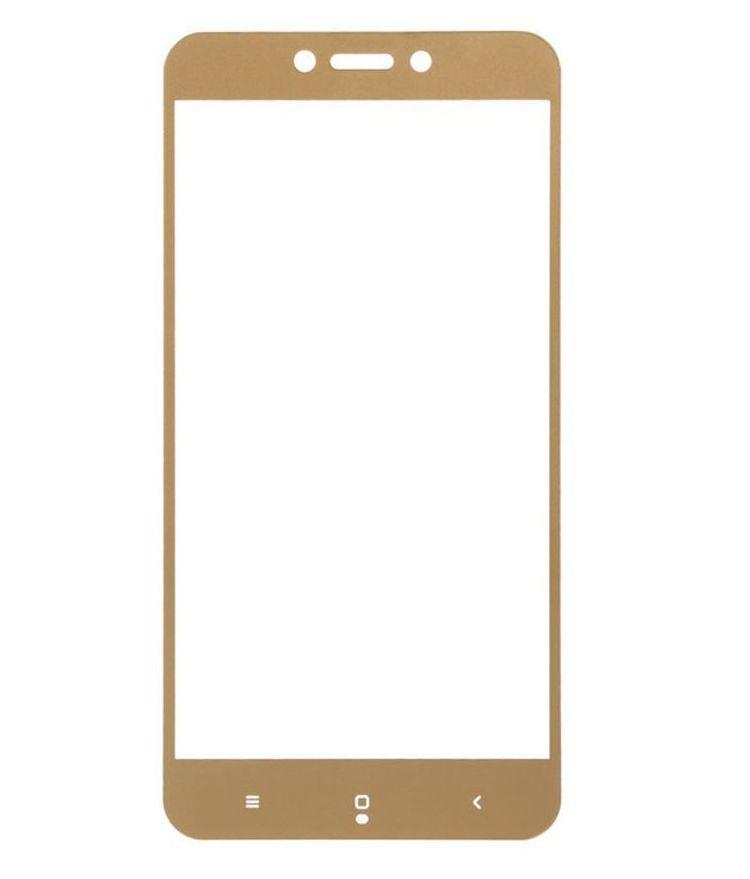 Аксессуар Защитное стекло Ainy для Xiaomi Redmi 5 Full Screen Cover 0.33mm Gold AF-X1060L