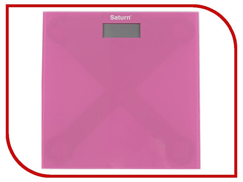 Весы напольные Saturn ST-PS0294 Pink весы напольные saturn st ps0292