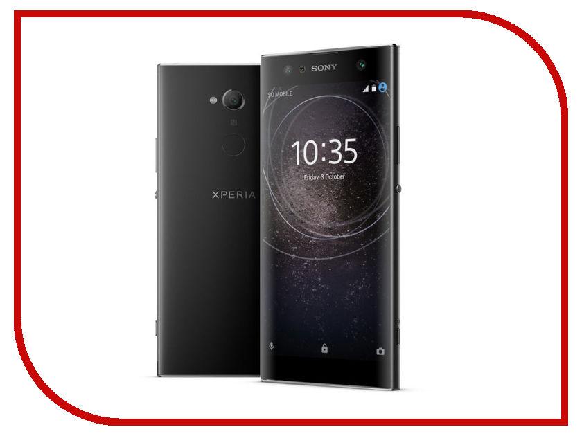 Сотовый телефон Sony Xperia XA2 Ultra Dual 32GB Black sony icd ux560 black