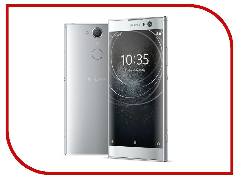 Сотовый телефон Sony Xperia XA2 Dual Silver мобильный телефон sony xperia z l36h c6603 5 0 13 1mp 2 16 android original unlocked sony xperia z l36h lt36h l36i c6603