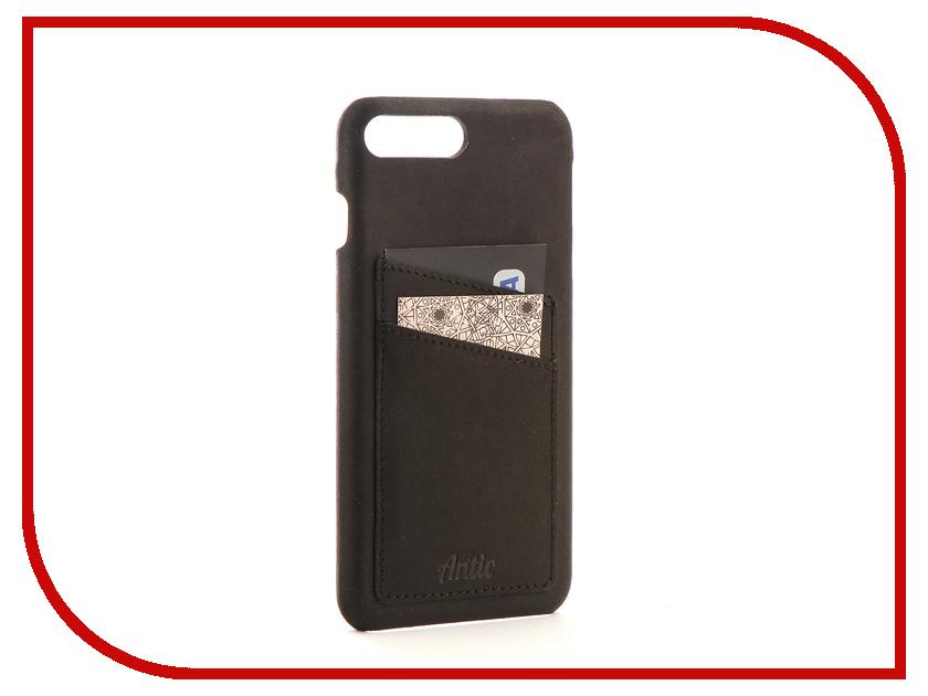Аксессуар Чехол-книжка Antic Orion для APPLE iPhone 7 Plus / 8 Plus Black ORIONg1iP7pl аксессуар чехол бампер burkley snap on для apple iphone 7 plus black bmcujblrst1i7p