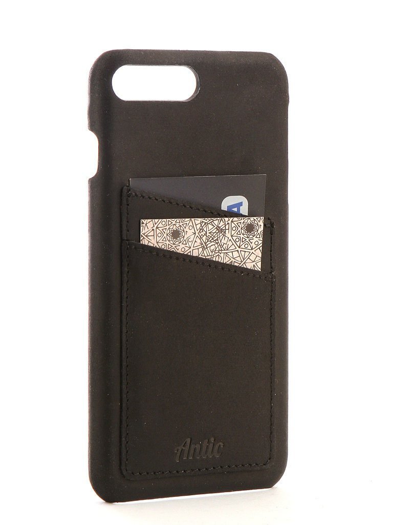 все цены на Аксессуар Чехол-книжка Antic для APPLE iPhone 7 Plus / 8 Plus Orion Black ORIONg1iP7pl онлайн