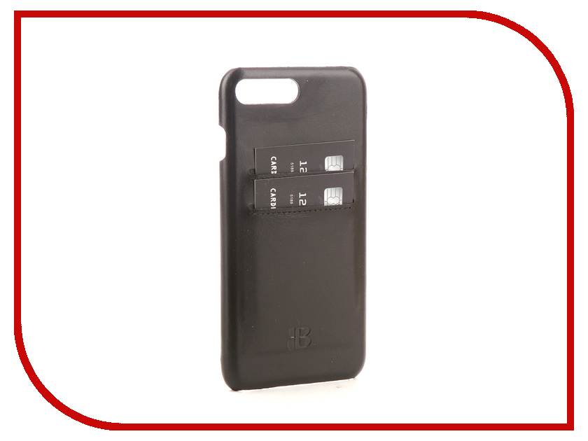 Аксессуар Чехол-бампер Burkley Snap-On для APPLE iPhone 7 Plus Black BMCUJBlRST1I7P смартфон apple iphone 7 plus 32gb black mnqm2ru a