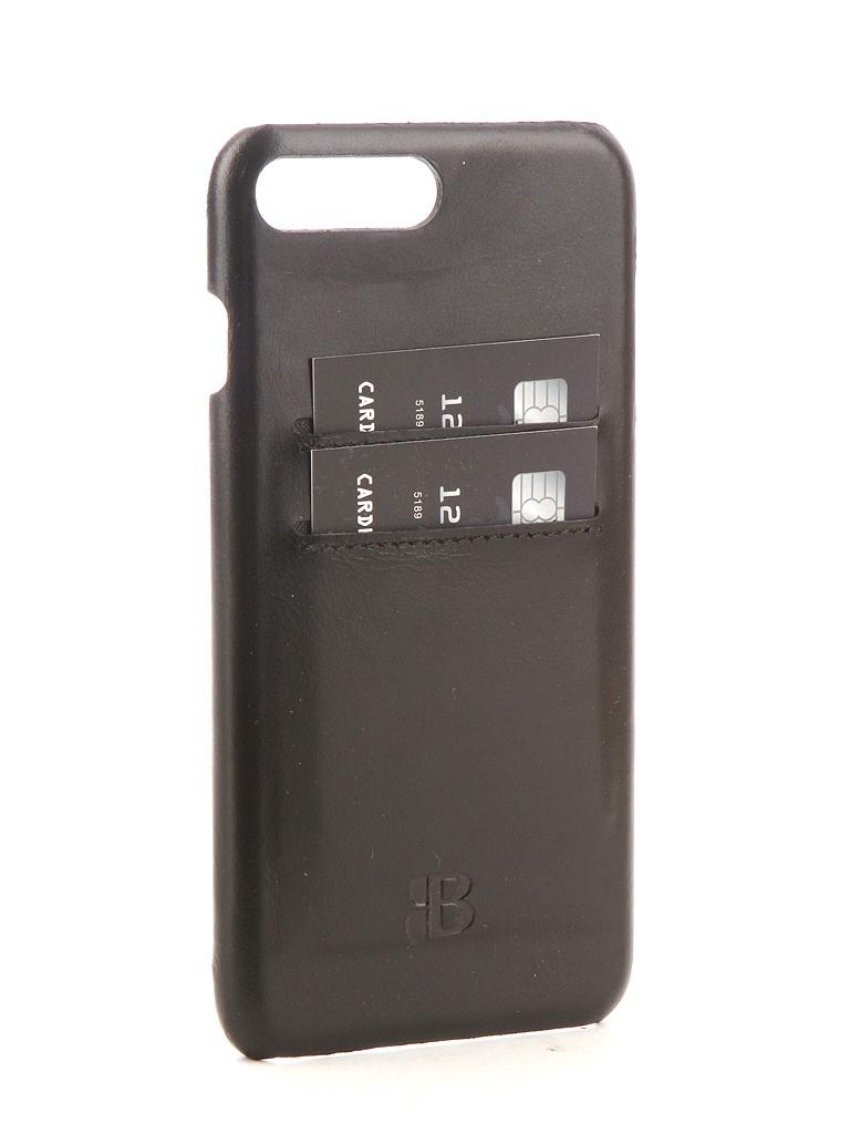 Аксессуар Чехол-бампер Burkley для APPLE iPhone 7 Plus Snap-On Black BMCUJBlRST1I7P