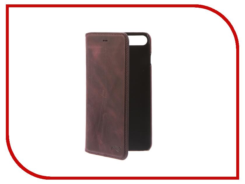 Аксессуар Чехол-книжка Antic Pan Book для APPLE iPhone 7 Plus / 8 Plus G7 PBg7iP7 аксессуар чехол бампер burkley snap on для apple iphone 7 plus black bmcujblrst1i7p