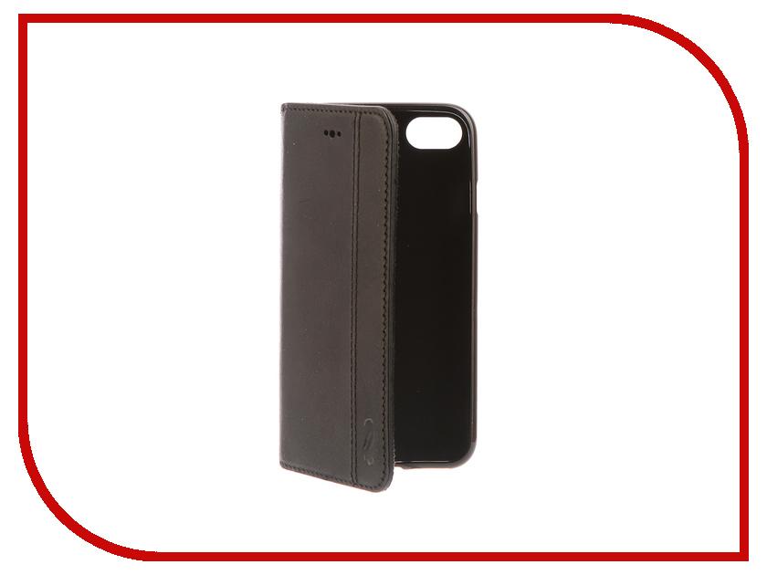 Аксессуар Чехол-книжка Antic Amon для APPLE iPhone 7 / 8 Black AMONg1iP7 skinbox lux чехол apple iphone 7 8 black