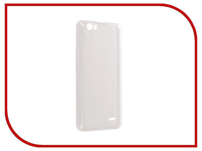 Аксессуар Чехол BQ BQ-5525 Practic Silicone Transparent