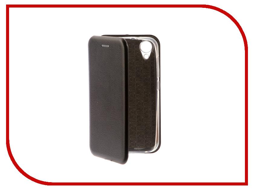 Аксессуар Чехол для BQ BQ-4072 Strike Mini Экокожа Black смартфон bq mobile bq 4072 strike mini dark grey