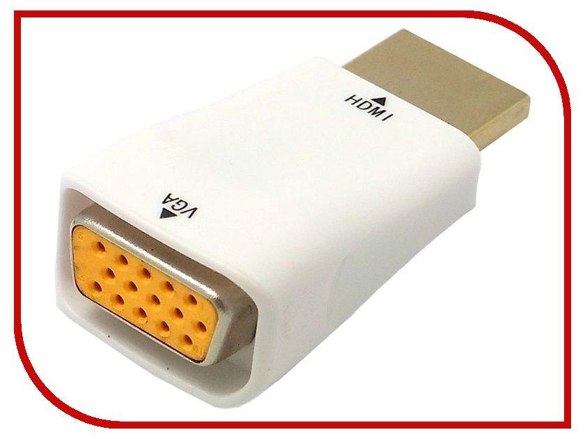 Аксессуар Orient HDMI M to VGA 15F C117 White hdv m612 hdmi to audio video converter white