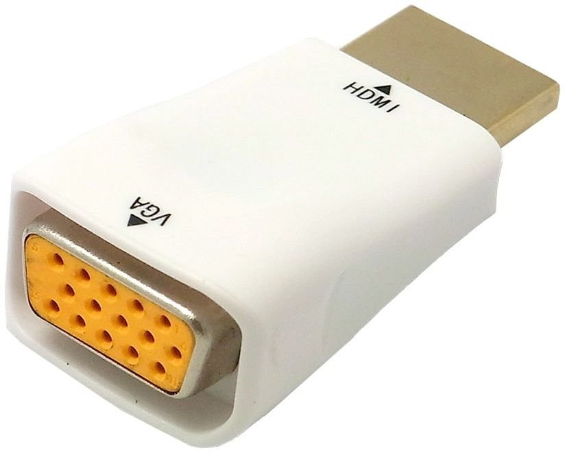 Аксессуар Orient HDMI M to VGA 15F C117 White