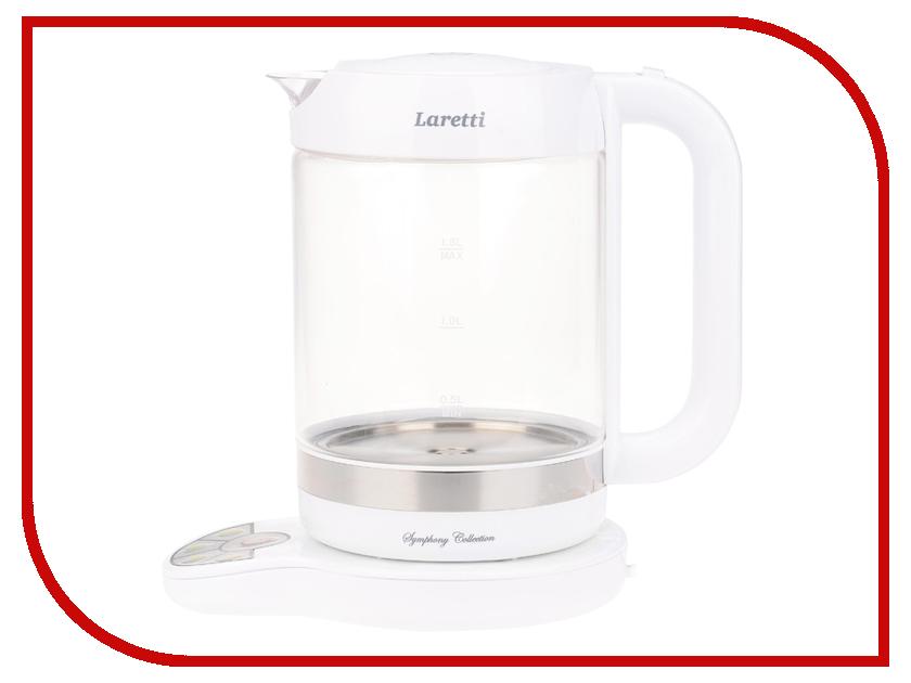Чайник Laretti LR7500 White утюг laretti lr8321 отзывы