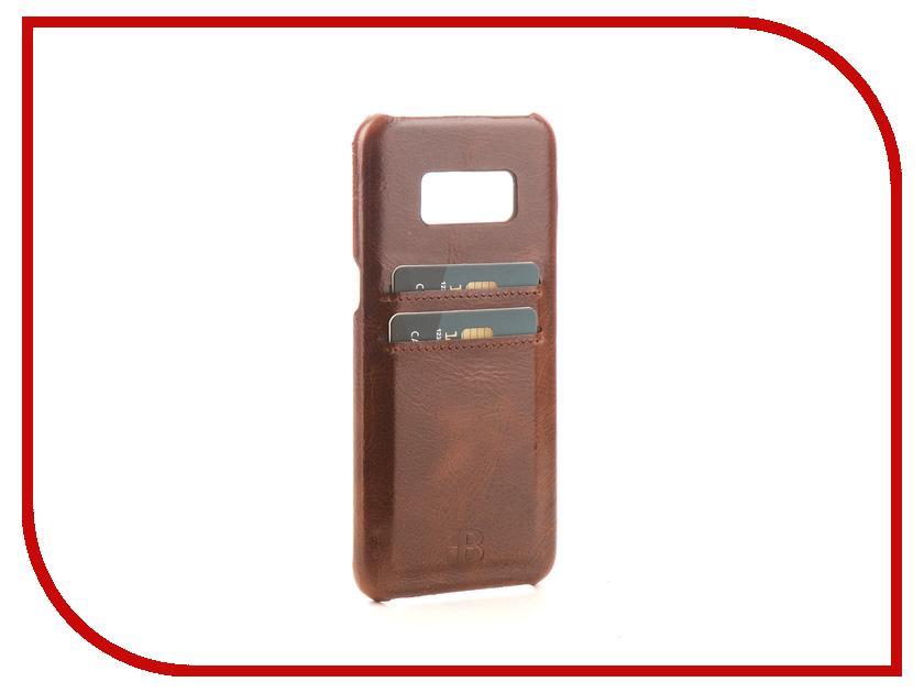 Аксессуар Чехол-бампер Samsung Galaxy S8 Burkley Snap-On Brown BMCUJVS5S8 аксессуар чехол бампер burkley snap on для apple iphone 7 plus black bmcujblrst1i7p