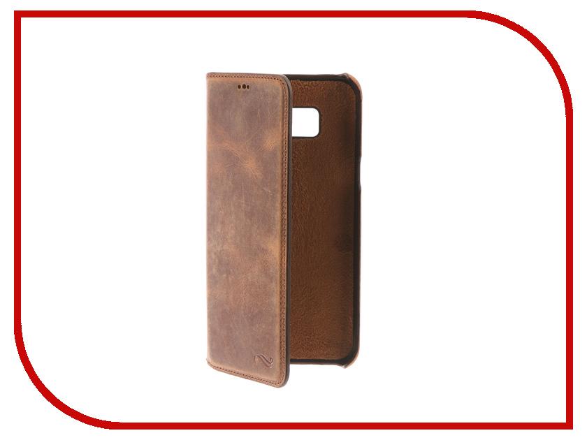 Аксессуар Чехол-книжка Samsung Galaxy S8 Plus Antic Ultimate Brown MCANUBRG2s8pl оригинальный samsung galaxy s8 s8 plus nillkin 3d ap pro полноэкранный экранный протектор экрана