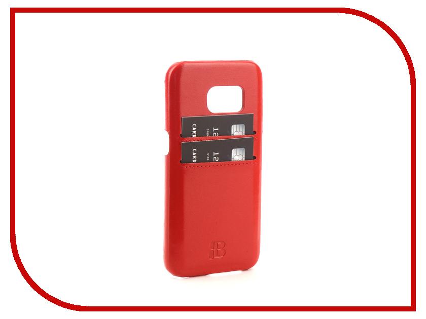 Аксессуар Чехол-бампер Samsung Galaxy S7 Burkley Snap-On Red BMCUJRDF4s7 pink samsung s7