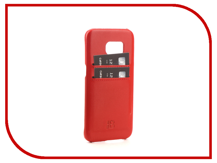 Аксессуар Чехол-бампер Samsung Galaxy S7 Edge Burkley Snap-On Red BMCUJRDF4s7e pink samsung s7