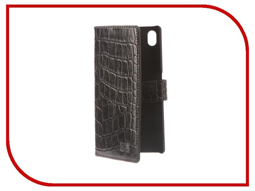 Аксессуар Чехол-книжка Sony Xperia Z5 Bouletta Wallet Black MCWLBLk1SEz5 чехол книжка muvit folio для sony xperia e5