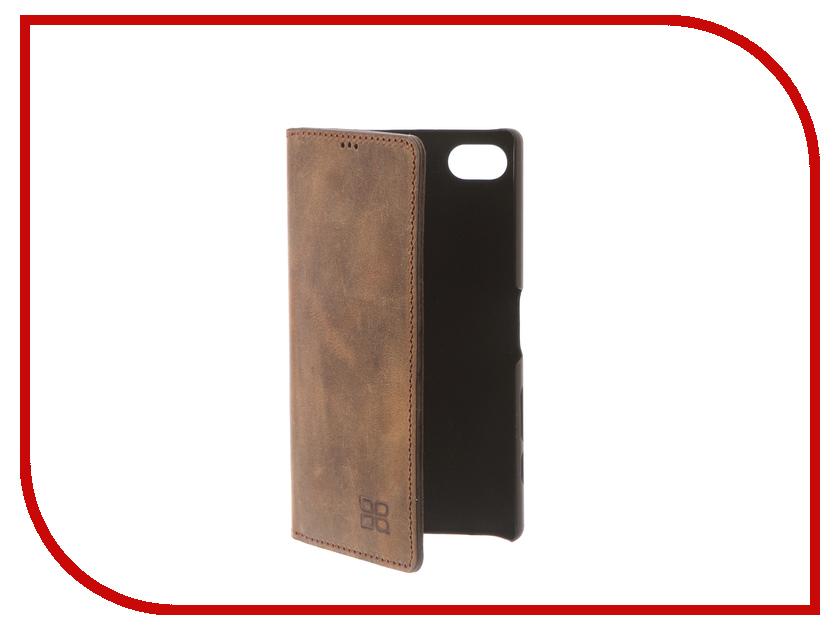 Аксессуар Чехол-книжка Sony Xperia Z5 Compact Bouletta Book Brown MCBCBRG6SEZ5c sony sony xperia z5 compact 32гб черный