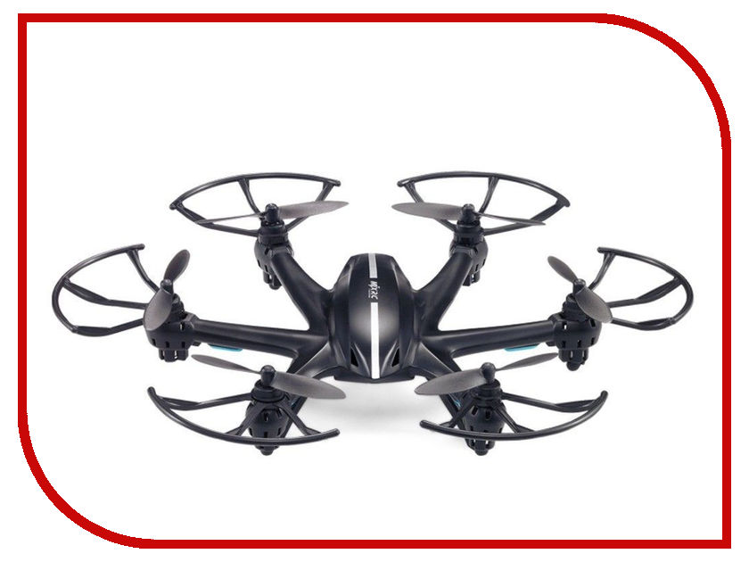Квадрокоптер MJX X800 Black радиоуправляемый квадрокоптер mjx x300c hd 2 4g