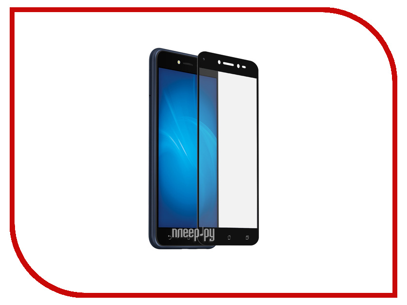 Аксессуар Защитное стекло для ASUS ZenFone Live ZB501KL DF Full Screen aColor-13 White for lenovo zuk z2 lcd screen display with touch screen digitizer panel glass assembly black white replacement parts free shipping