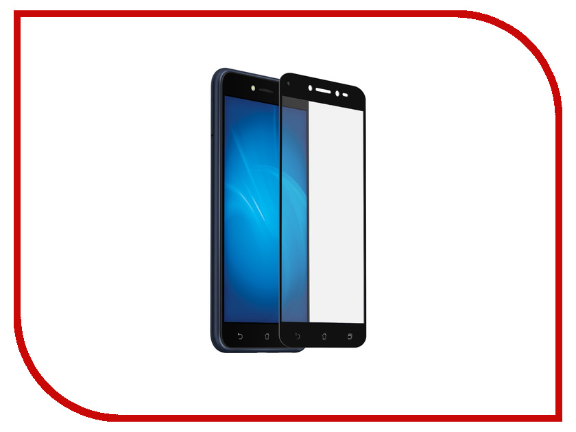 Аксессуар Защитное стекло для ASUS ZenFone Live ZB501KL DF Full Screen aColor-13 Black for lenovo zuk z2 lcd screen display with touch screen digitizer panel glass assembly black white replacement parts free shipping