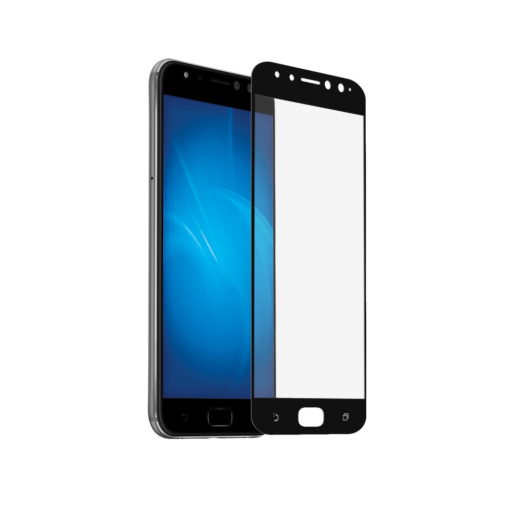 Аксессуар Защитное стекло DF для ASUS ZenFone 4 Selfie Pro ZD552KL Full Screen aColor-12 Black