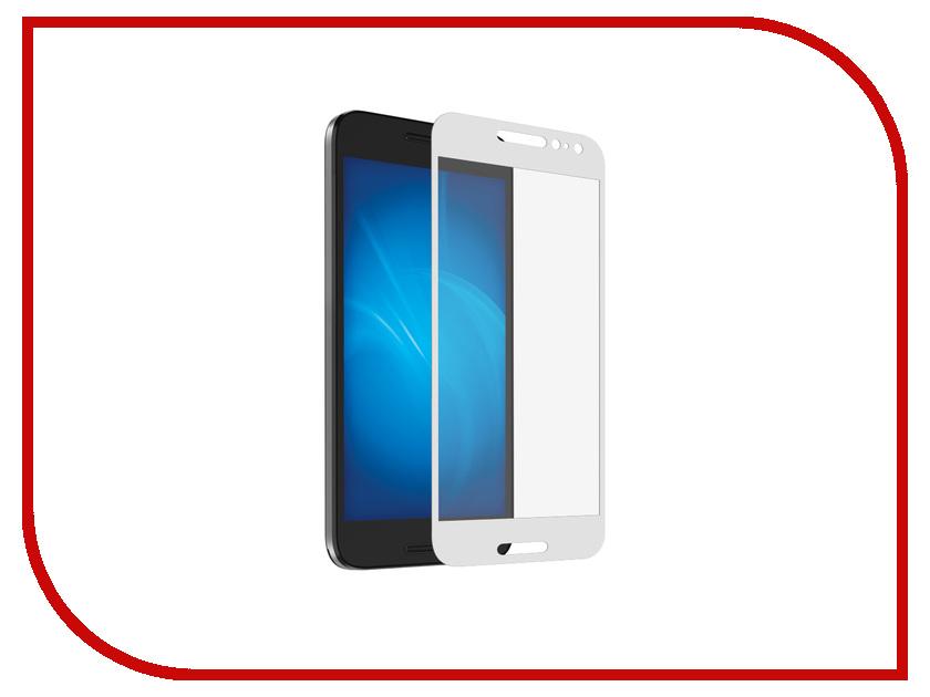 Аксессуар Защитное стекло для ASUS ZenFone 4 ZE554KL DF Full Screen aColor-11 White цена и фото