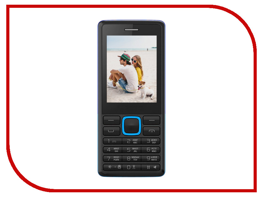 Сотовый телефон Irbis SF12 Black-Blue сотовый телефон philips e311 xenium navy