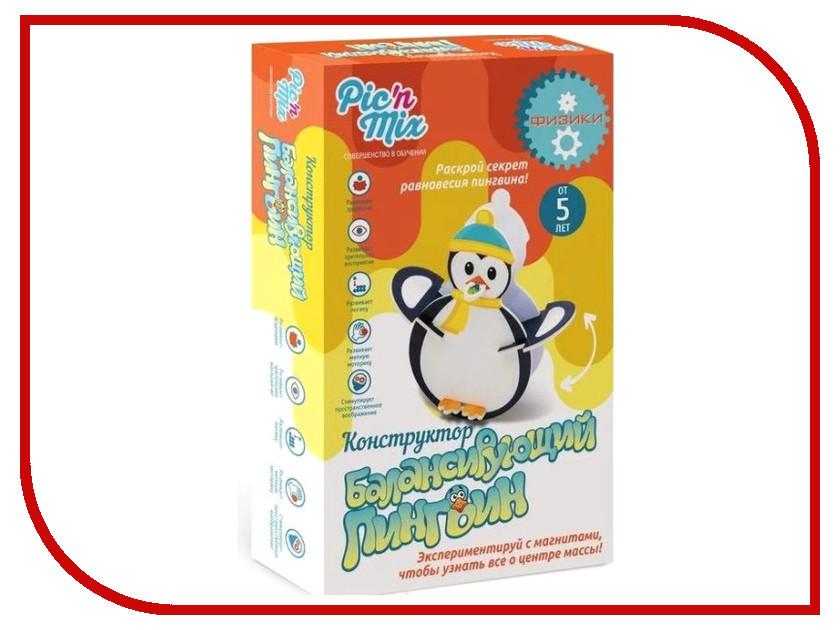 Конструктор Pic N Mix Балансирующий пингвин 125004 мячи pic n mix мяч массажно игровой большой 18 см