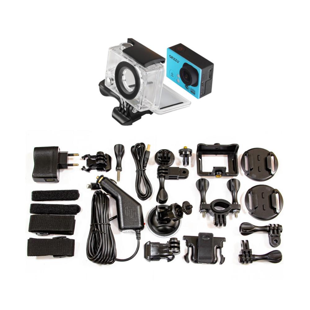 купить Экшн-камера Ginzzu FX-120GL онлайн