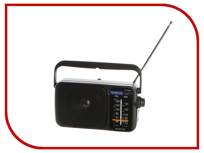 Радиоприемник Panasonic RF-2400DEE9-K аксессуар panasonic vw tma1gu k двойной держатель