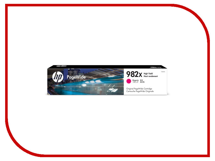 Картридж HP 982A T0B28A Magenta для PageWide 765/780/785 картридж для принтера nv print для hp cf403x magenta