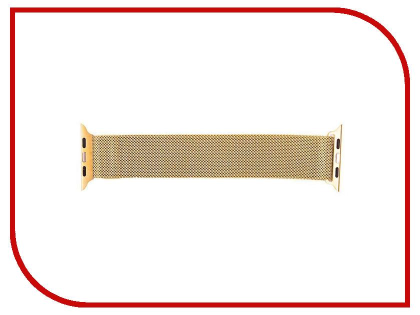 Аксессуар Ремешок APPLE Watch 42mm Activ Gold Metal Mesh 79568