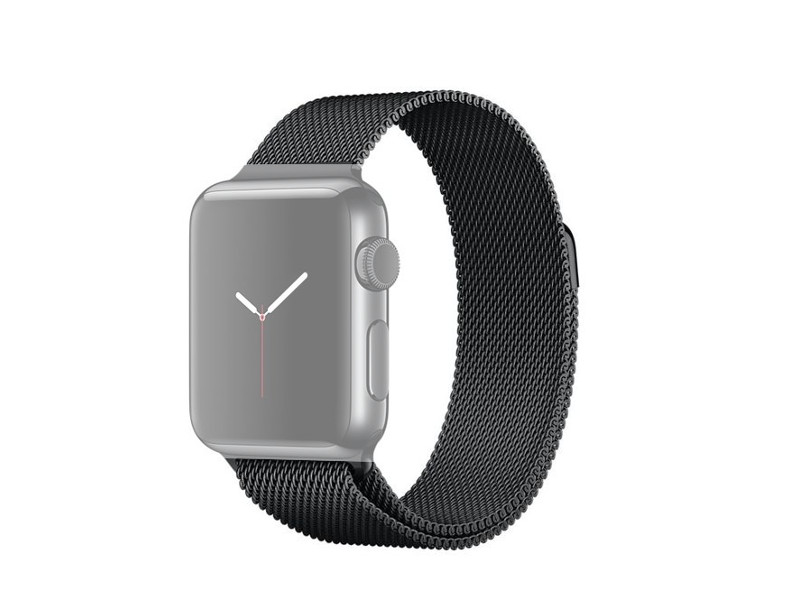 Аксессуар Ремешок APPLE Watch 42mm Activ Black Metal Mesh 79567