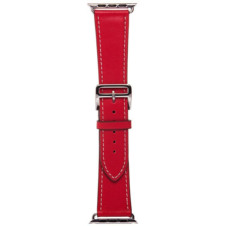 Аксессуар Ремешок APPLE Watch 42mm Activ Red Smooth Leather 79566