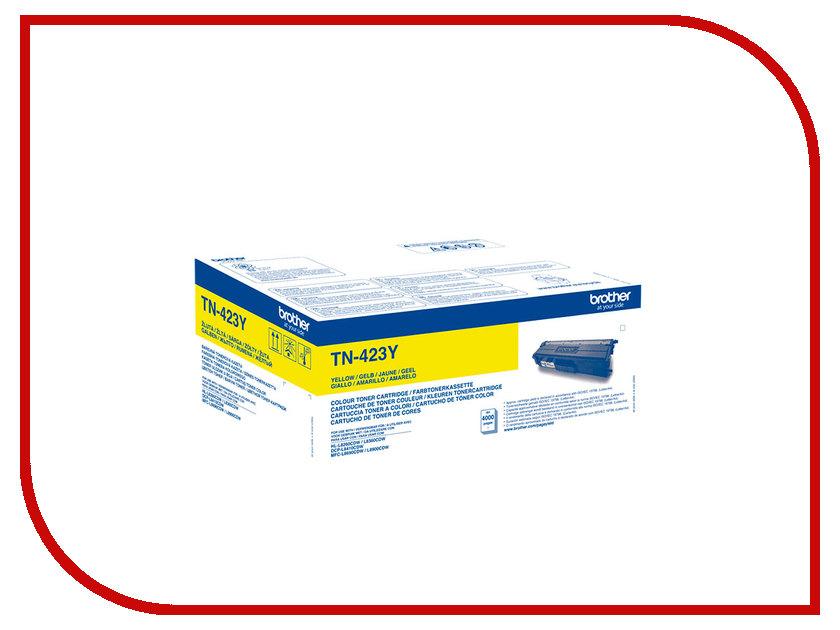 Картридж Brother TN-423Y Yellow для HL-L8260CDW/DCP-L8410CDW/MFC-L8690CDW TN423Y