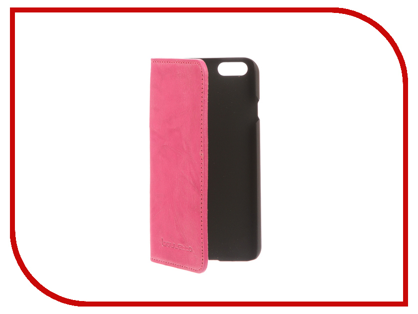 Аксессуар Чехол-книжка Bouletta Slim для APPLE iPhone 6 / 6S Pink MCBCPB6I6