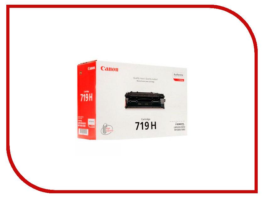 Картридж Canon 719H Black для MF-5840DN/5880DN/LBP-6300DN/6650DN 3480B002 картридж profiline pl ce505a для hp lj p2035 p2055 p2055d p2055dn canon mf5840dn 5880dn mf5940 lbp 6300dn 6650dn 2300стр