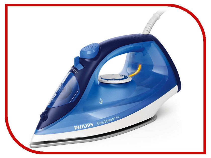 Фото Утюг Philips GC 2145/20 EasySpeed Plus Blue