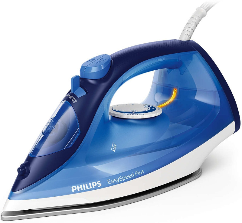 Утюг Philips GC 2145/20 EasySpeed Plus Blue утюг philips gc2672 40 easyspeed advanced
