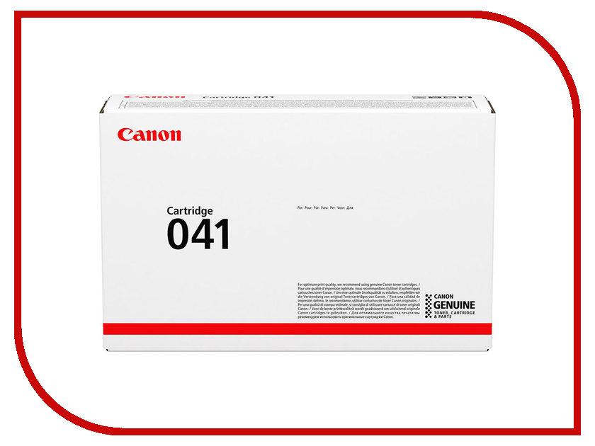 Картридж Canon 041BK Black для LBP-712x 0452C002