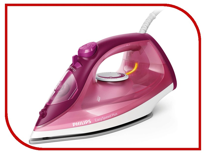 все цены на Утюг Philips GC 2146/40 EasySpeed Plus Pink