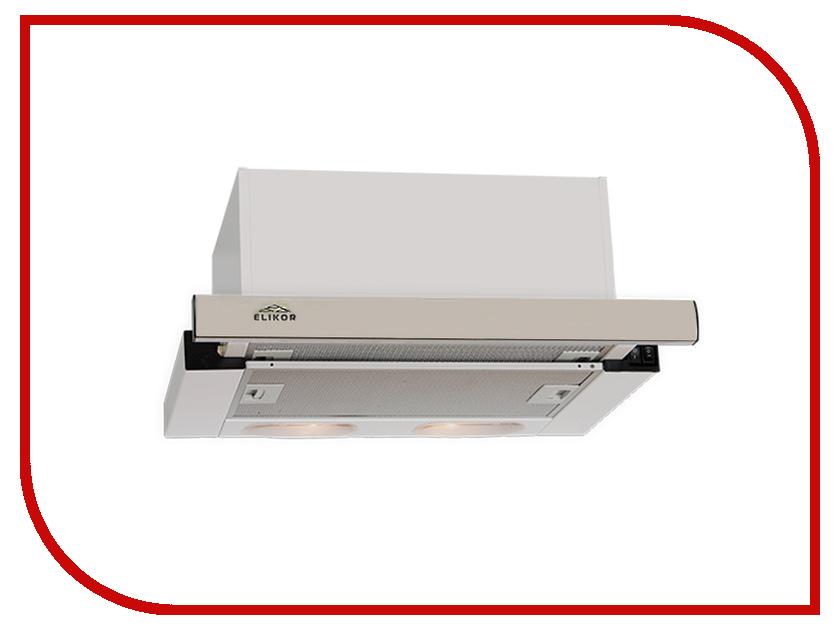 Кухонная вытяжка Elikor Интегра S2 60 White встраиваемая вытяжка elikor интегра 60 крем крем