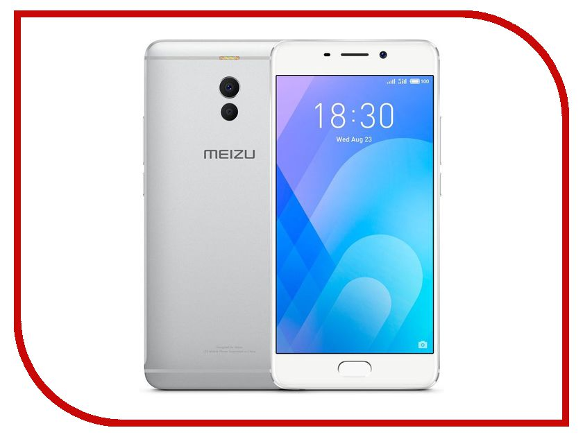 Сотовый телефон Meizu M6 Note 16Gb Silver high quality lcd display digitizer touch screen assembly for meizu m1 note meilan note1 phone free shipping with tools as gift