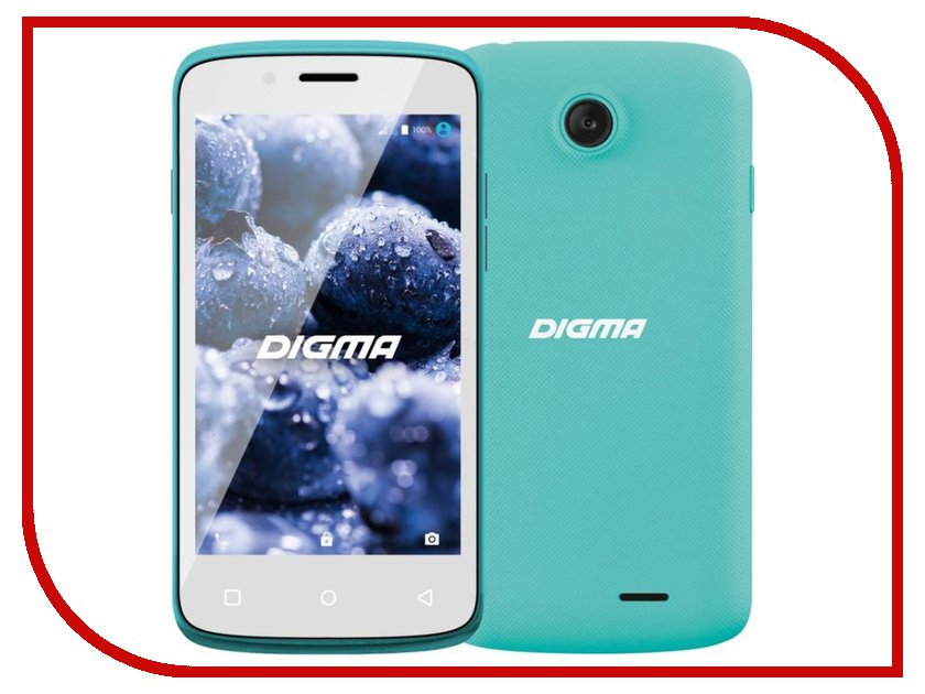 Сотовый телефон Digma VOX A10 3G Green vox g450 3g