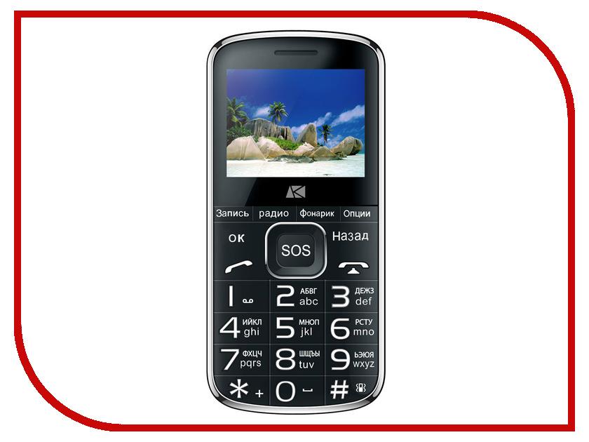 Сотовый телефон Ark Power F1 Black сотовый телефон archos sense 55dc 503438