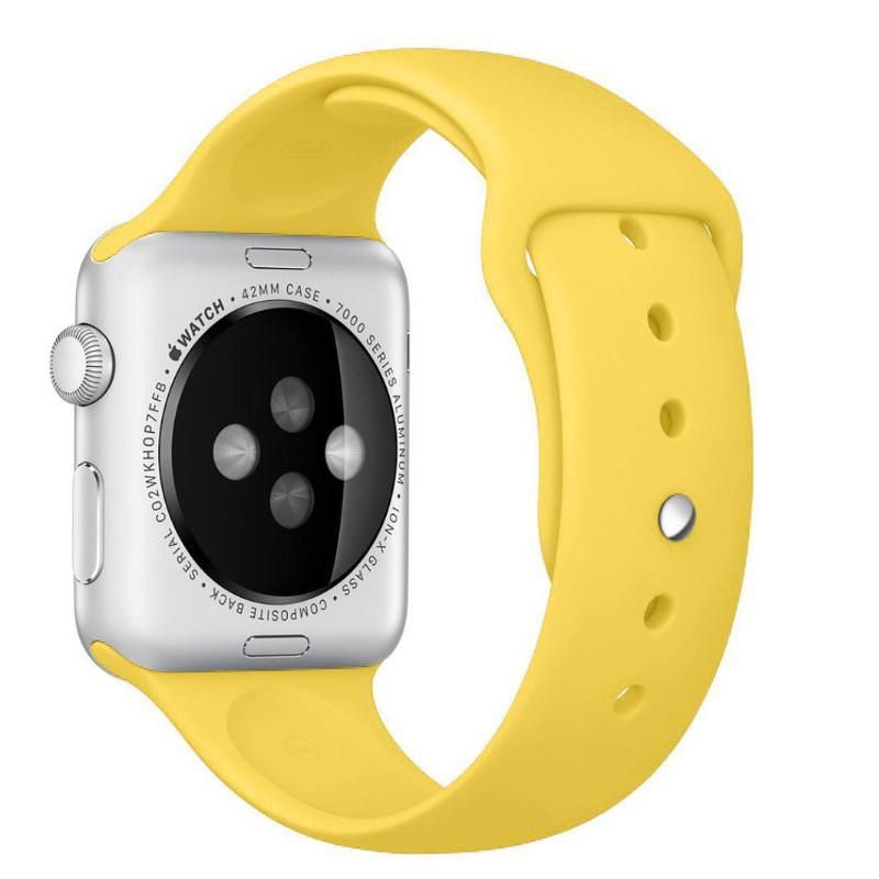 Аксессуар Ремешок APPLE Watch 42mm Activ Yellow Sport Band 79562