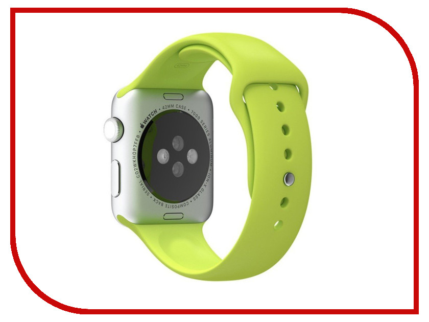 Аксессуар Ремешок APPLE Watch 42mm Activ Mint Sport Band 79552 outdoor sport buckle watchband for apple watch 42mm