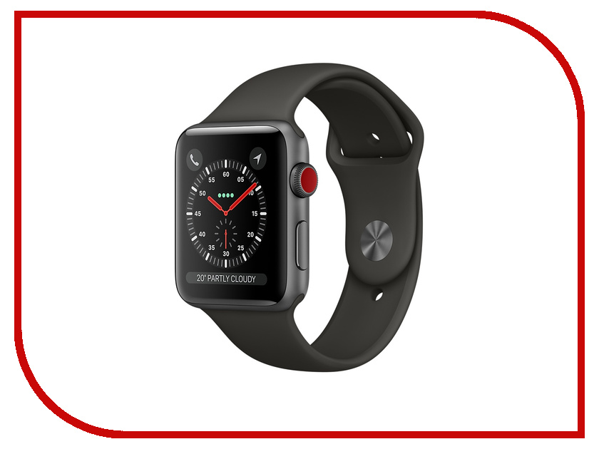 Аксессуар Ремешок Activ Sport Band для APPLE Watch 38mm Dark Gray 79517 pinsenda черный 38mm
