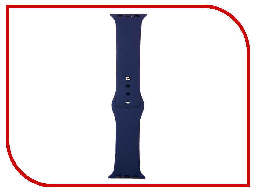 Аксессуар Ремешок Activ Sport Band для APPLE Watch 38mm Indigo 79519 аксессуар ремешок apple watch 38mm activ sport band red 54323